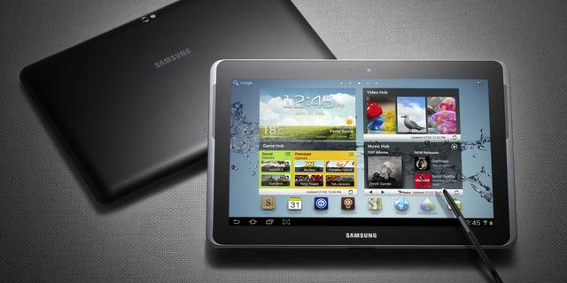 Samsung toont Galaxy Note 10.1
