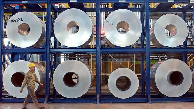 Aluminiumprijs op laagste punt in vier jaar
