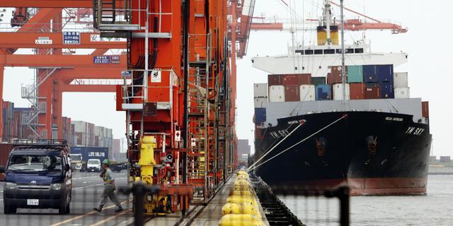 Handelsoverschot eurozone gedaald