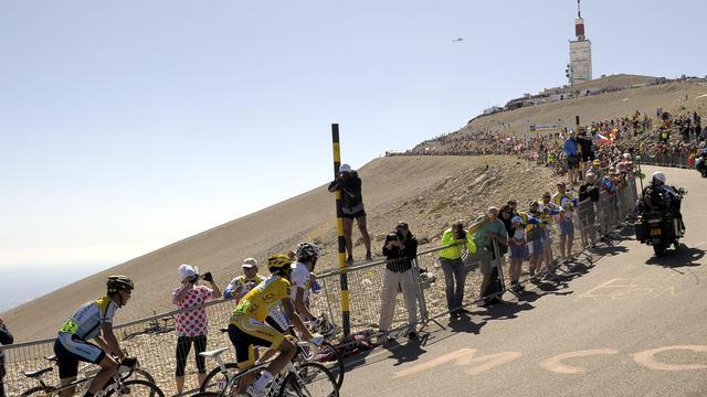 'Mont Ventoux en tweemaal Alpe d'Huez in Tour 2013'