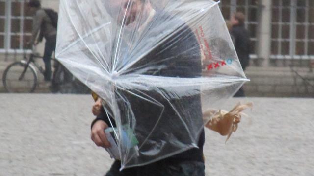 Overlast door eerste officiële herfststorm