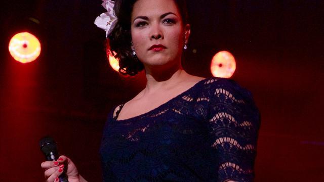 Caro Emerald treedt op in Royal Albert Hall