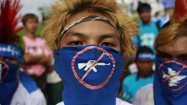Meer dan 22.000 ontheemden in Myanmar