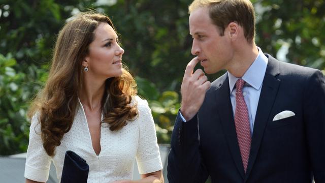 Bewaker William en Kate schiet 'per ongeluk'