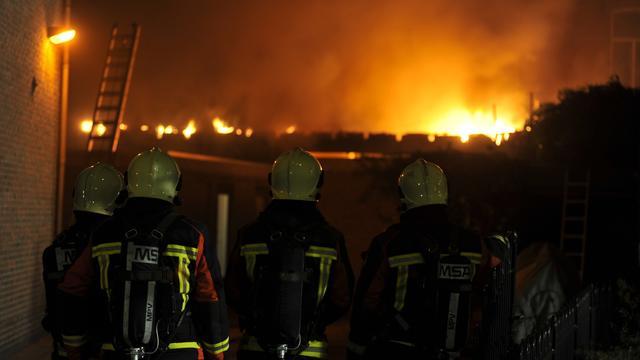 Winschoten sloopt leegstaande panden na branden