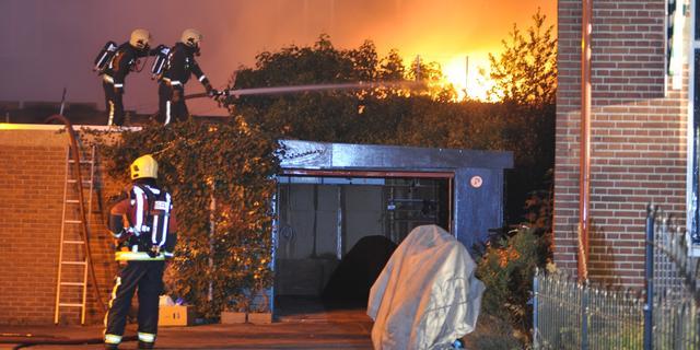Man vast voor branden Winschoten