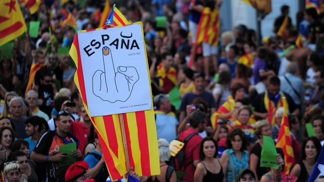 Catalanen willen referendum over afscheiding