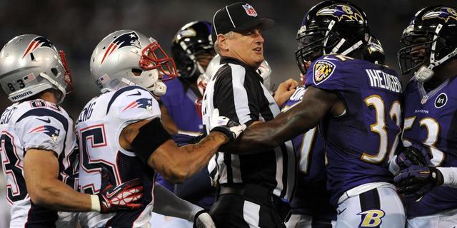Scheidsrechters NFL keren terug na lock-out