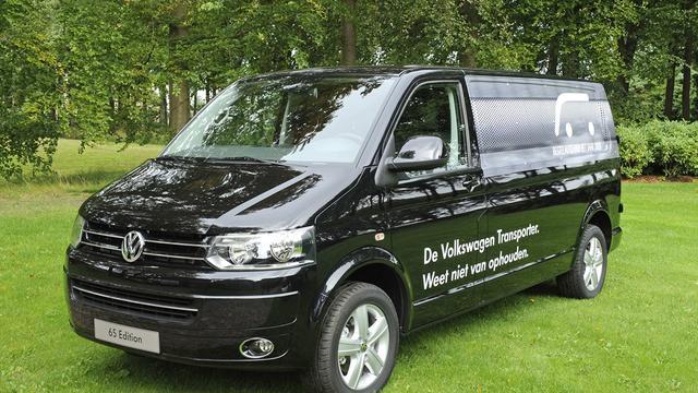 VW Transporter wint prijs