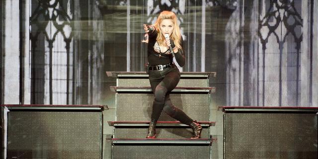 Madonna best verkopende zangeres in Groot-Brittannië