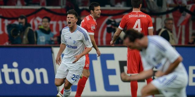 Schalke 04 verspeelt voorsprong