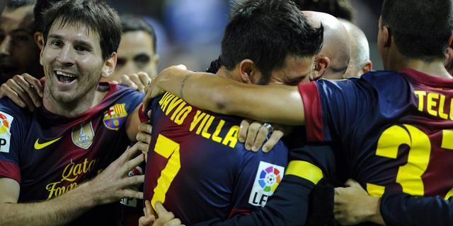 Barcelona blijft ongeslagen na zege op Sevilla