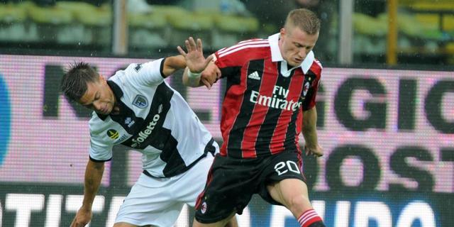 AC Milan verspeelt punten bij Parma