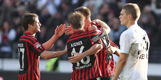 Eintracht Frankfurt blijft in spoor Bayern