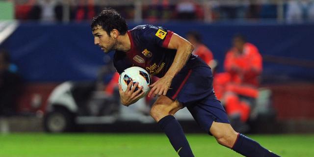 Fabregas prijst karakter Barça