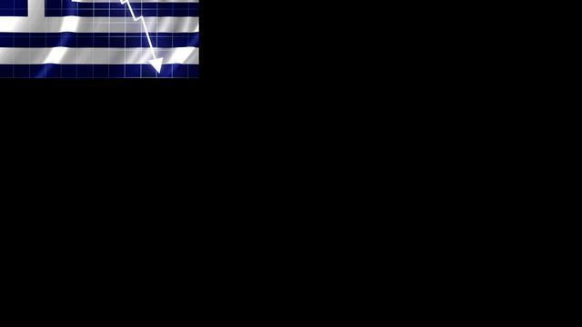 Griekse beurs zwaar onderuit