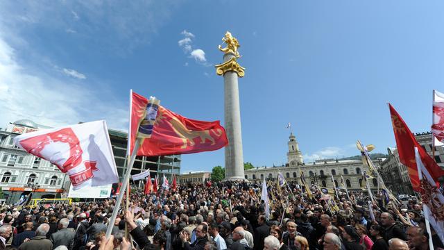 Saakasjvili erkent verlies in Georgië
