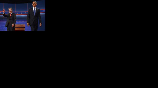 Romney scoort tegenover voorzichtige Obama