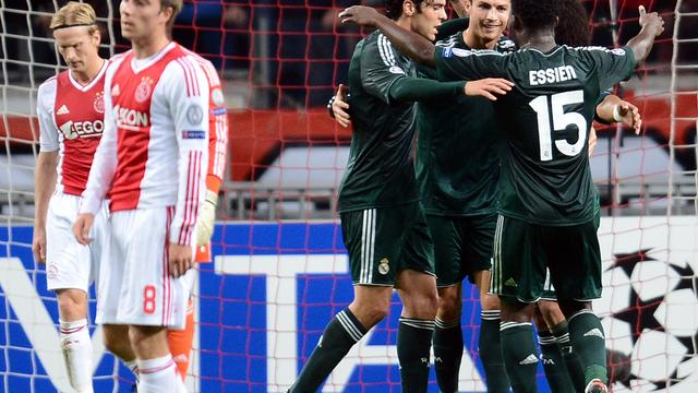 Ajax met grote cijfers onderuit tegen Real Madrid
