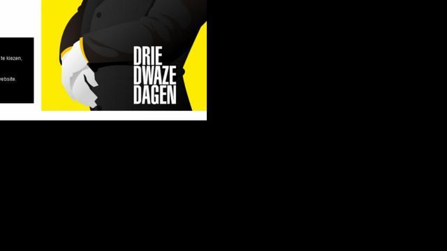 Lange rij op website Dwaze Dagen