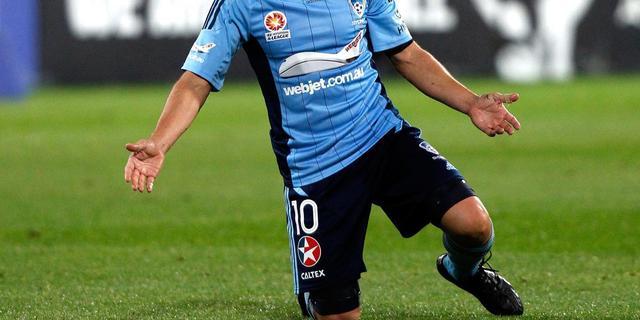 Treffer Del Piero helpt Sydney FC niet aan resultaat