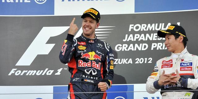 Vettel jongste coureur met 25 Grand Prix-zeges