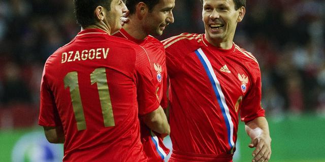 Zege Advocaat met Rusland, Zweden wint bij debuut Guidetti