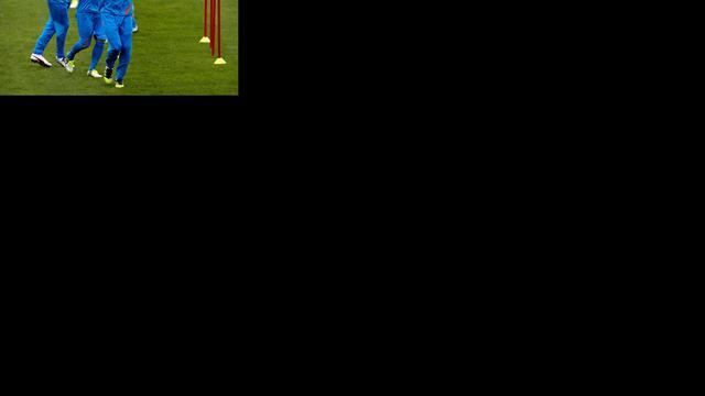Douglas debuteert op training Nederlands elftal