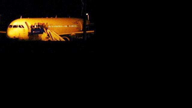 'Radioapparatuur aan boord Syrisch vliegtuig'