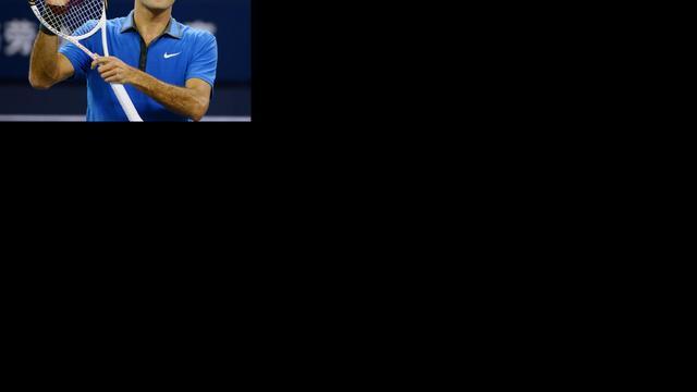 Federer rekent af met Lu in Shanghai