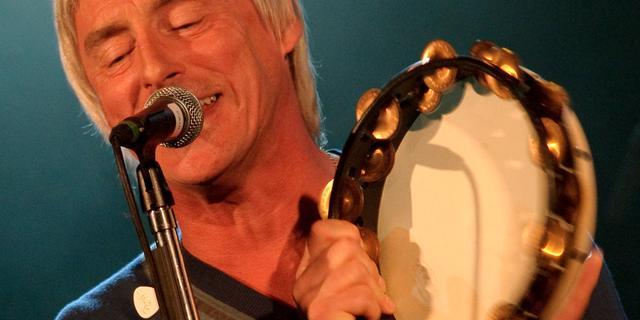 Paul Weller voor concert naar Amsterdam