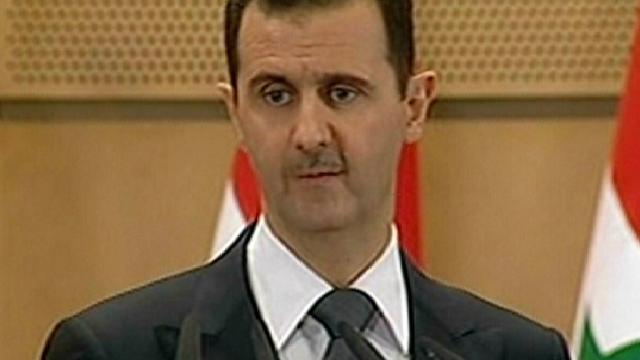 Assad vangt bot met toespraak