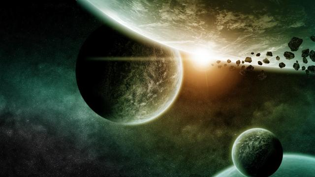 Grootste 'ander' planetenstelsel ooit ontdekt