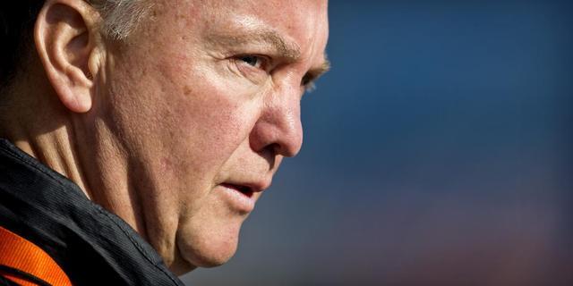 Van Gaal wil spelers fit houden voor Roemenië