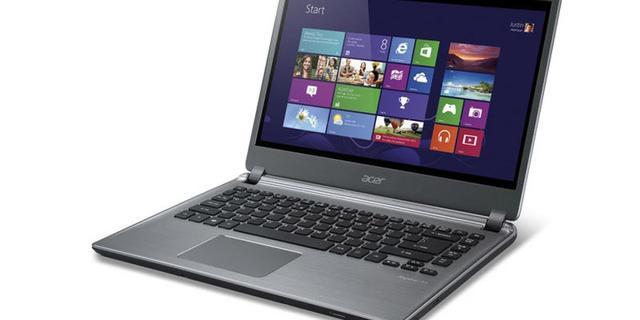 Acer voorziet ultrabook van touchscreen