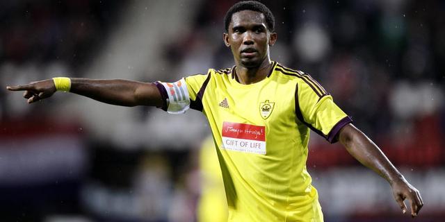 Eto'o geen kandidaat Afrikaans voetballer van het jaar