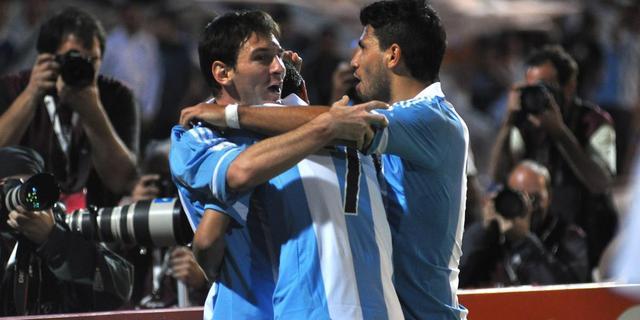 Messi leidt Argentinië langs Uruguay