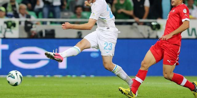 Matavz helpt Slovenië langs Cyprus
