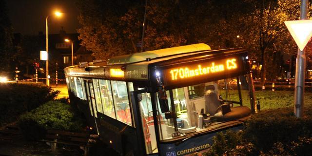 Ongeval met bus in Amstelveen