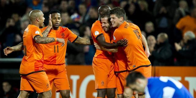Oranje wint plichtmatig van Andorra