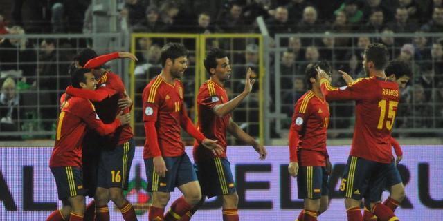 Spanje probleemloos langs Wit-Rusland