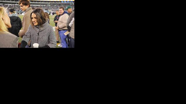 'Mila Kunis is zwanger'