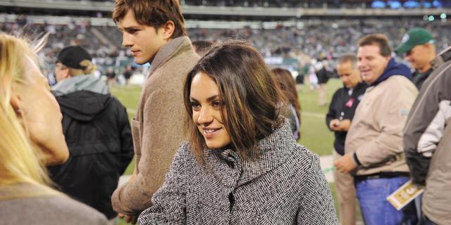 Ashton Kutcher neemt Mila Kunis mee naar ouders met kerst
