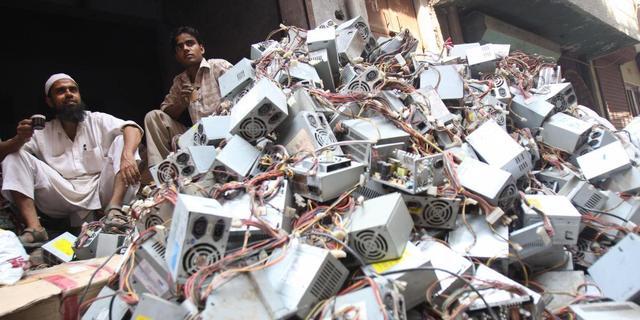 Producenten bezorgd over lekken e-waste