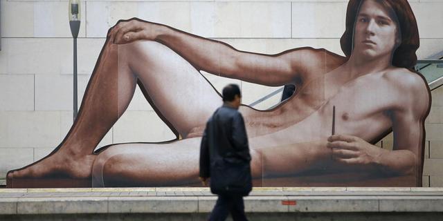 Man gaat naakt in Oostenrijks museum