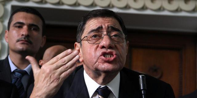 Egyptische justitietopman mag blijven
