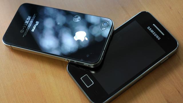 'Apple en Samsung schikten bijna in patentstrijd'