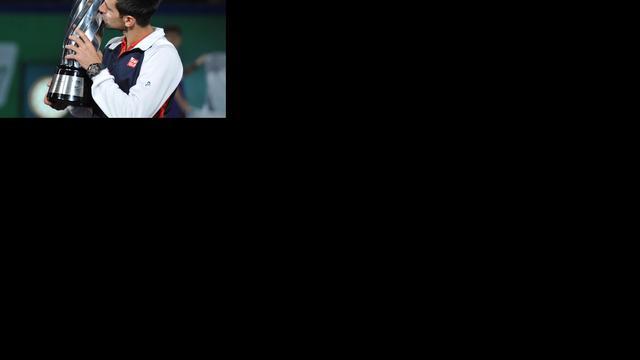 Djokovic sluit jaar af als nummer één van de wereld