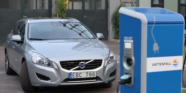 Nuon/Vattenfall richt zich met elektrische Volvo op de toekomst