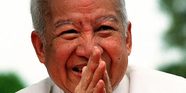 Oud-koning Sihanouk van Cambodja overleden